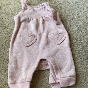 Carter's one piece overalls with snap bottom